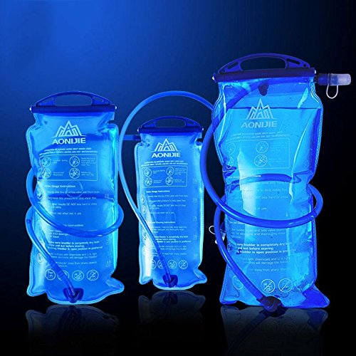 518siY50DpL. SS500  - Aonijie Outdoor Water Bottle Bag 1L/1.5L/2L/3L Hydratation Camelback Tactical Backpack Water Bag for Camping Hiking Cycling