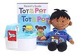Tot on the Pot - Töpfchentraining mit Puppe und Töpfchen - Komplettes Kit Inklusive Elternhandbuch, Kinderbuch, Puppe, Spieltöpfchen & Aktionskarten