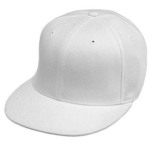 Original FLEXFIT Premium 210 Fitted Basecap in versch. Farben (L/XL - bis 61 cm, White)