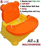 #6: Trugoods Baby Booster Seat/Swing Multipurpose Kids Feeding High Chair