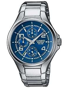 Casio Edifice – Montre Homme Analogique avec Bracelet en Acier Inoxydable – EF-316D-2AVEF