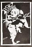 Poster Harley Quinn Suicide Squad Affiche Handmade Graffiti Street Art - Artwork