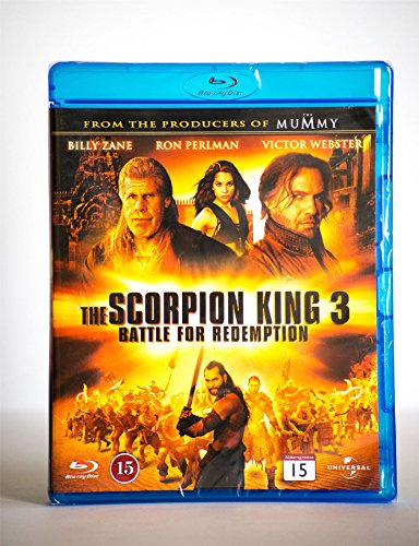 The Scorpion King 3: Battle For Redemption Blu-Ray Action/Adventure New Sealed Region B/2