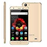 Smartphone Débloqué, OUKITEL K4000 Plus 4G(Ecran: 5 pouces - 16 Go - Dual Micro SIM - Android 7.0 - Quad Core 1.3GHz - Batterie 4100mAh) Or