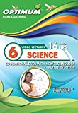 Optimum Educator Educational DVD's Std 6 MH Board Science - Digital Guide Perfect Gift for School Students - Easy Video Learning