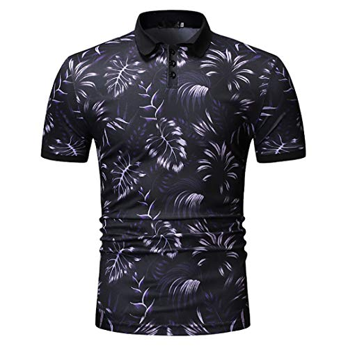Junior Golf Hose (ZZTX HOMIS Klassisches Herren Polo Shirt Lässige Kurzarm T-Shirt Golf Tennis Sport T-Shirt Mode Atmungsaktiv Tee Normale Passform Top,B,3XL)