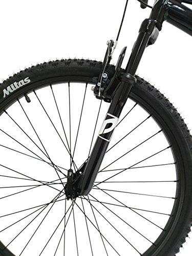 """Discovery DP073 - Telaio in alluminio da 26"""" per mountain-bike. Cambio Shimano TX30, 18velocità, con ammortizzatori, per uomo"""
