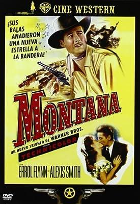 Montana (Errol Flynn) Spanish region 2 import, plays in English by Errol Flynn