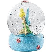 Enesco Enchanting Disney - Bola de nieve, Campanilla, resina y vidrio, 10 cm