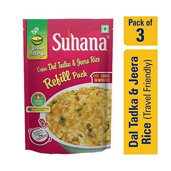 Suhana Cuppa Dal Tadaka & Jeera Rice Refill Pouch
