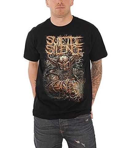 Suicide Silence Viking officiel Homme nouveau Noir T Shirt