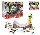 Grip & Tricks - Xtrem Shop - Coffret Cadeau - Finger Skates - Roller BMX Scooter - Halfpipe - Stairs - Dimensions: 32 X 26 X 16 cm