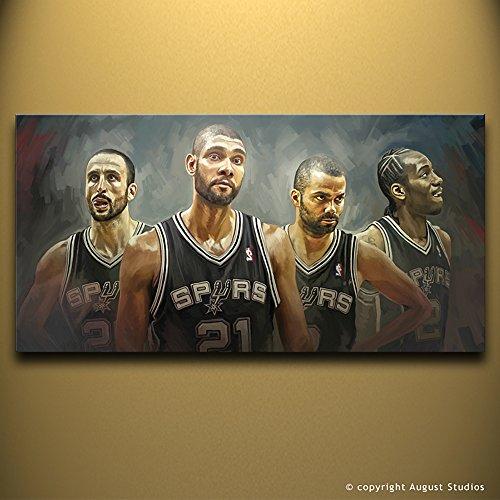San Antonio Spurs Wall Decor Artist firmato
