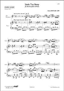 PARTITION CLASSIQUE - Little Toy Story - P. BERNARD - Saxophone Alto et Piano