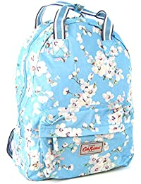 f2a342d4fed9 Cath Kidston Backpack with Handles in  Wellesley Blossom  in Soft Blue  Oilcloth