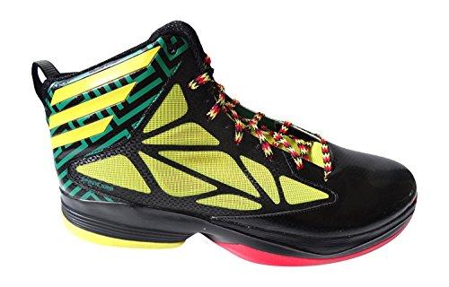 Adidas veloce pazzo Mens Hi Top pallacanestro addestratori G59722 delle scarpe da tennis (UK 6.5 Us