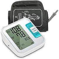Tensiómetro de brazo, Meerveil digital Electrónico tension arterial Monitor de Presión Arterial et Ultra-delgado.