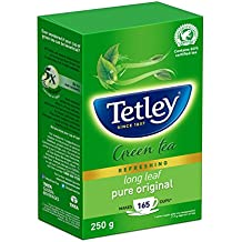 Tetley Long Leaf Green Tea, 250g