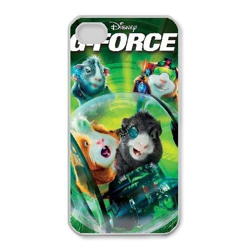 iphone4 4s White phone case Disney Cartoon Comic Series G-Force QBC3083380