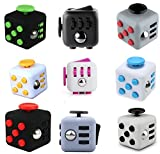 #9: Premsons The Original Fidget Cube Relieves Stress & Anxiety for Children and Adults Attention Toy Glossy Finish (Color May Vary)