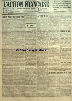 ACTION FRANCAISE (L') [No 25] du 25/01/1920 - ...