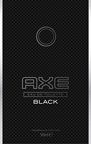 Axe Eau de Toilette Black, 50 ml, 1er Pack (1 x 50 ml) -