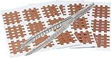 mediAID Crosslings / Spiral-Crosslings (Akupunkturpflaster) Typ-A (180 Stück) Das Original inkl. Pinzette