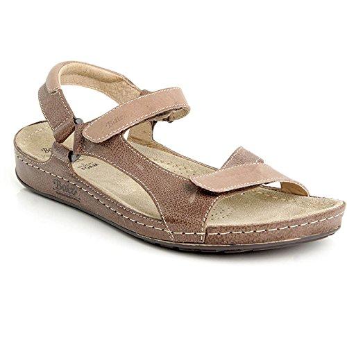 Batz TARA Sandales Chaussure en Cuir de Qualité Supérieure Femme Eté Marmo