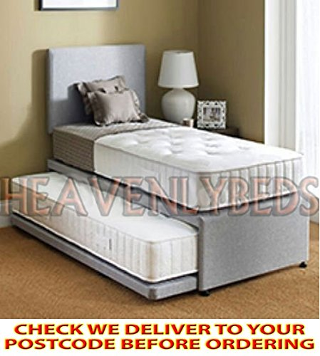 HEAVENLYBEDS @ SINGLE GUEST BED 3 IN 1 WITH UNDER BED PULL OUT BED WITH 2
