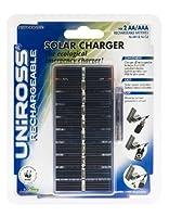 Uniross Performance Chargeur Solaire de Piles Rechargeables NimH pour Appareil photo