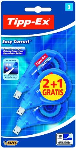 Tipp-Ex Easy Correct Einweg-Korrekturroller extra lang 3 Stück