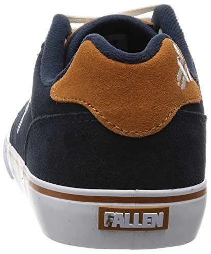 Fallen Slash scarpe – nero/Gum midnight blue camel
