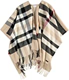 FRAAS Damen Poncho 631160, Beige (Camel 170), One Size