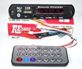 #4: Bluetooth FM USB AUX Card MP3 Stereo Audio Player Decoder Module Kit with Remote for Audio Amplifier DIY