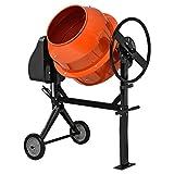 [in.tec] Hormigonera eléctrica(140 litros - 2800 U/Min - 550W) mezclador de cemento mortero -...