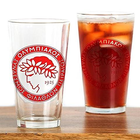 CafePress - Olympiacos - Pint Glass, 16 oz. Drinking Glass