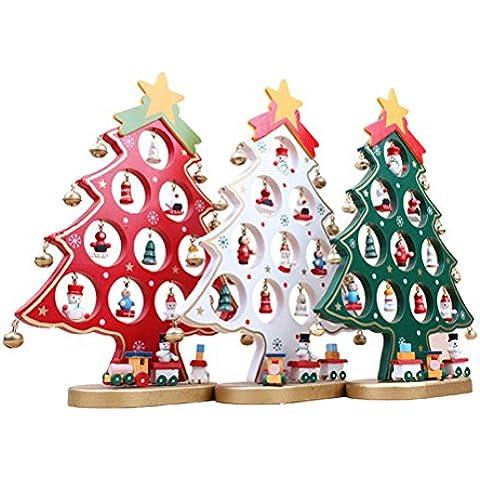 ROSENICE Albero di Natale Artificiale con Ciondoli Decorazioni da Appendere