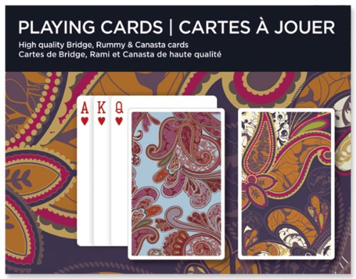Piatnik 2610 - Spielkarten Paisley