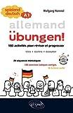 Allemand Ubungen ! Spielend deutsch A1 : 180 activités pour réviser et progresser