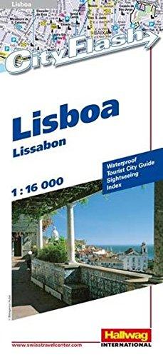Preisvergleich Produktbild Hallwag City Flash, Lissabon / Lisboa