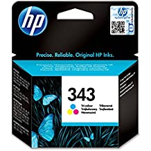 HP 343 - Cartucho de tinta Original HP 343 Tricolor para HP DeskJet, HP OfficeJet, HP PSC, HP Fax