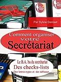 Telecharger Livres COMMENT ORGANISER SON SECRETARIAT (PDF,EPUB,MOBI) gratuits en Francaise