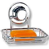 Badezimmerablagen - Wandablagen mit Typauswahl (Seifenhalter mit Vakuum Befestigung)