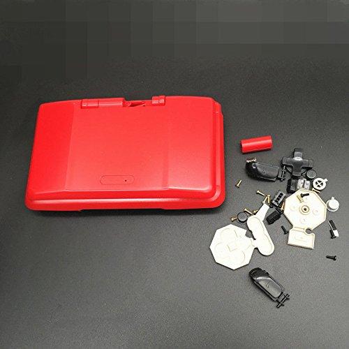 Vivi Audio Full Gehäuse Shell Fall Ersatz Teile für Nintendo DS NDS Farbe Rot