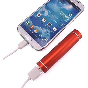 PowerBank 2600mAh Batterie Externe Portable Chargeur de Secours pour iPhone 6, 5, 5S, 5C, 4S, iPad Air, iPad Mini 2/1, iPad 4/3/2/1 (Apple adaptateur non fourni); Samsung Galaxy S5 S4,S3,Note 2 3 4 ;Google Nexus 5,4;Google Glass; HTC One (M8) Smartphones