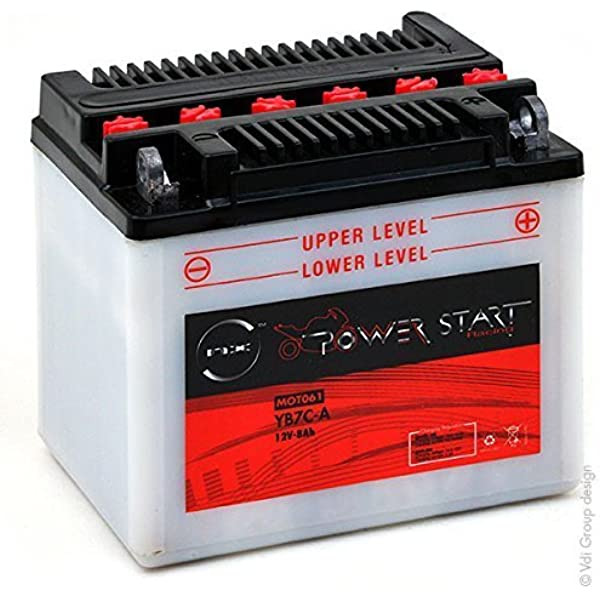 Nx Motorrad Batterie Yb7c A 12v 8ah Auto