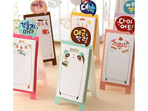 durevole Nota appiccicosa famiglia animale per classificazione Nota messaggio simpatico cartone animato (colorato) Scuola