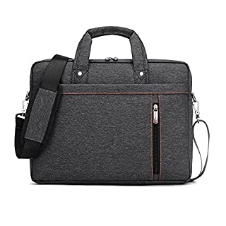 Luxury Waterproof Nylon Durable Laptop Computer Messenger Bag Case with Convex Buffer Pad
