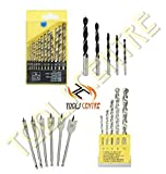 TOOLS CENTRE 4 IN 1 DRILL BIT SET COMBO ...