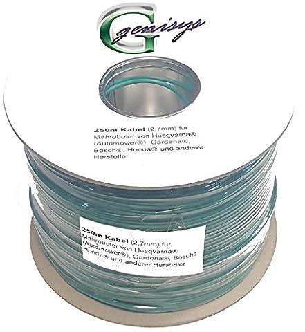 Begrenzungsdraht Kabel 250m Ø2,7mm für Herkules Wiper Ciiky XE XK XH XH Plus